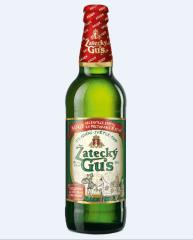 Фото: Пиво «Zatecky Gus» теперь в новой бутылке.
