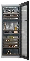 Фото: Классический винный шкаф от компании Miele.