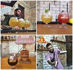 Фото: «Фестиваль уличной еды» — коньячный бар «Шустов».