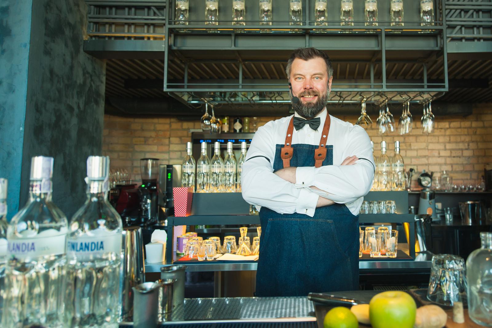Фото: Украину посетил Pekka Pellinen – международный мастер миксолог Finlandia Vodka.