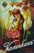 Плакат: Пиво Калинкинъ (девушка на качеле)