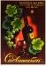 Плакат: Садвинсбыт. Виноградные вина совхозов Наркомзема РСФСР