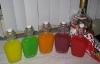 Фото: Результат — водка в пяти цветах.