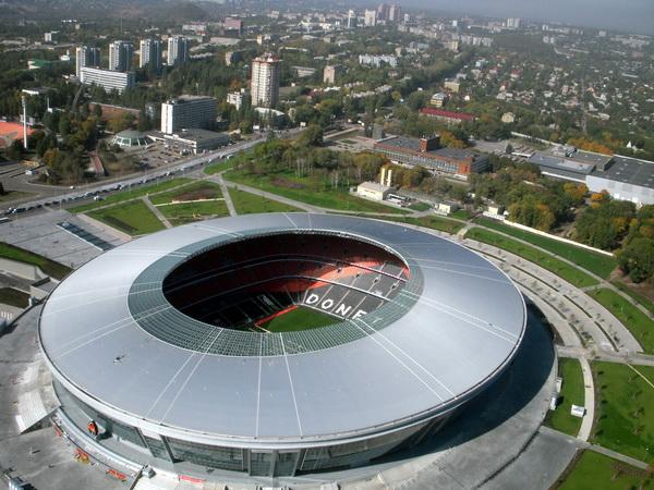 Фото: «Донбасс Арена» — домашний стадион ФК «Шахтер» и спортивно-культурный центр столицы Донбасса.