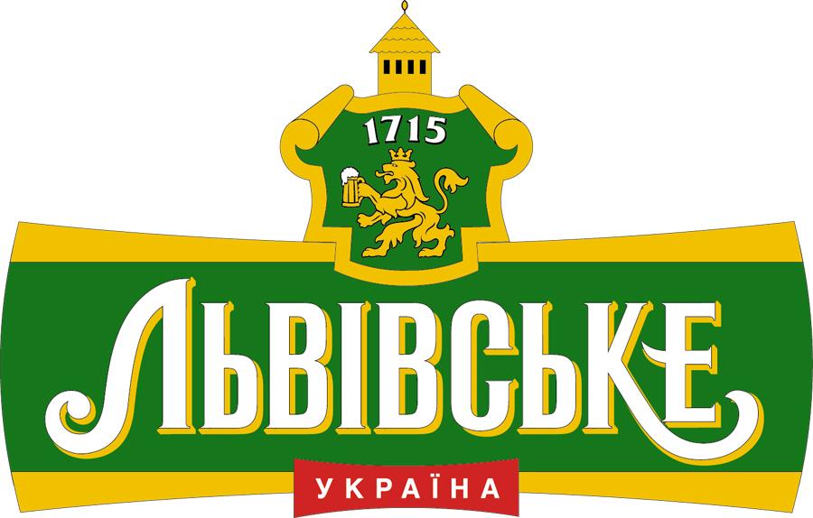 Фото: Логотип пива «Львівське» («Львовское»).
