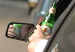 Фото: алкоголь за рулем
