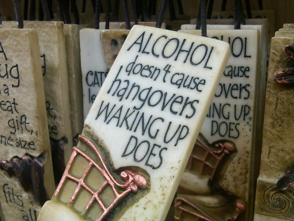 Фото: Похмелье вызывает не алкоголь, а утро