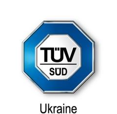 Фото: логотип компании TÜV SÜD UKRAINE