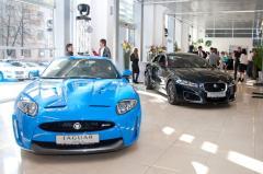 Фото: Презентация обновленного салона «Jaguar».