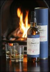 Фото: Виски «Tullibardine Vintage 1993» от вискокурни «Tullibardine» («Таллибардин»).
