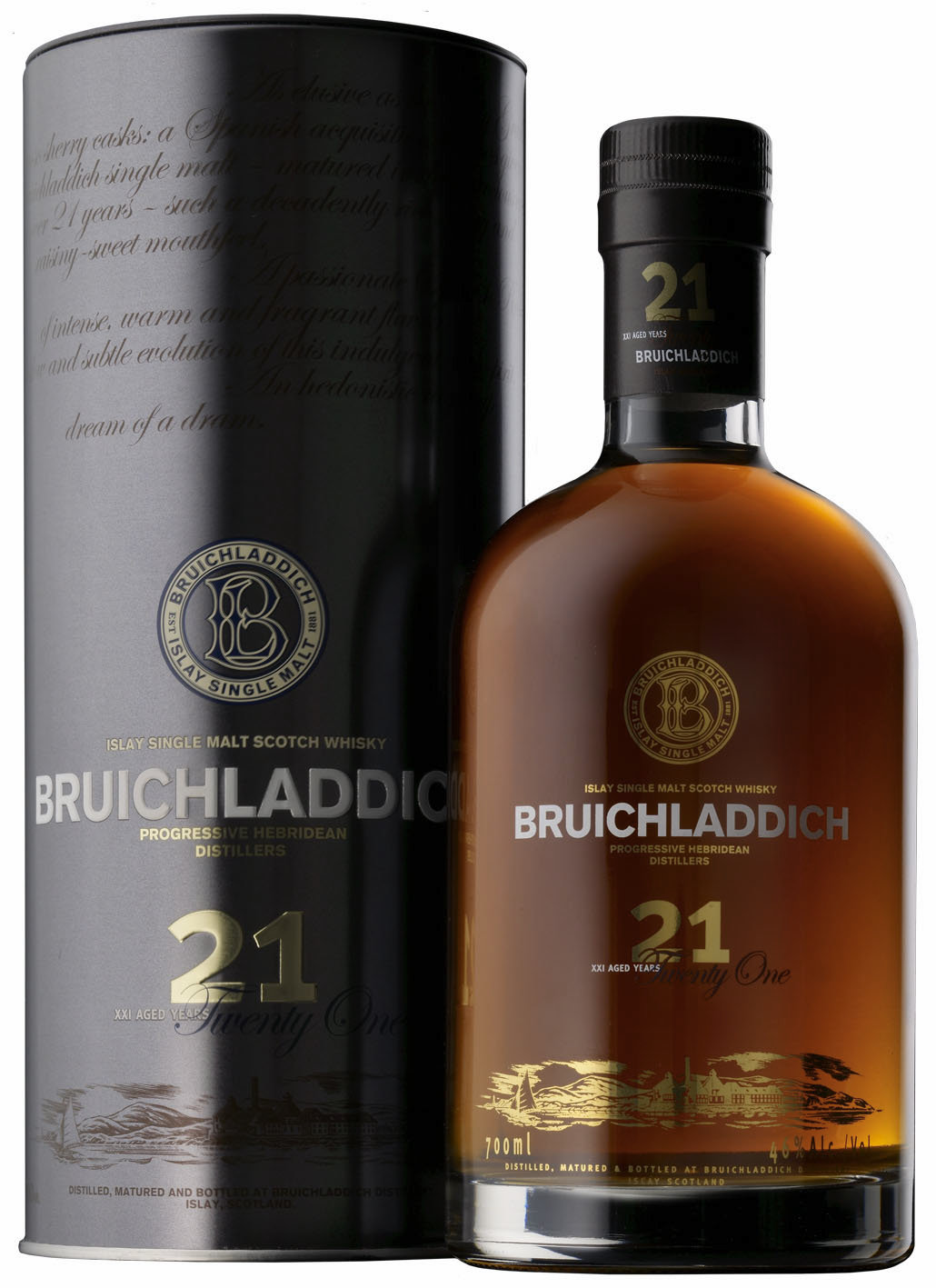 Фото: Виски «Брукладди 21» («Bruichladdich 21 yo»).
