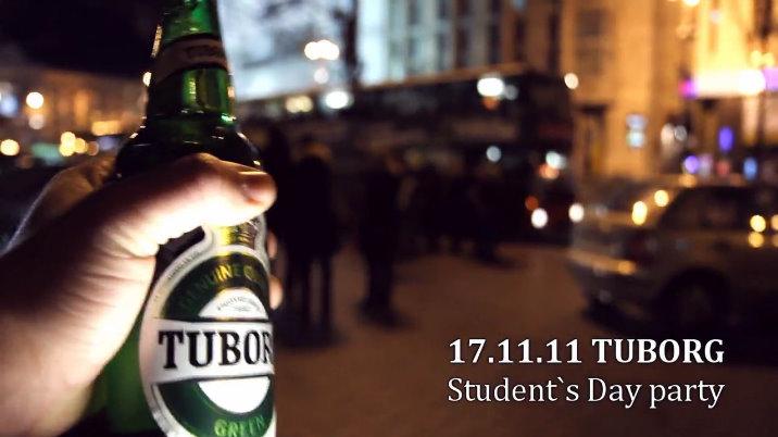 Фото: «Tuborg» отметил «День студента» промо акцией «Drive Bus Party».