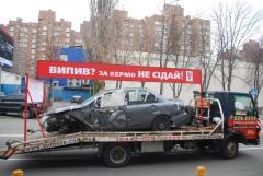 Фото: Эвакуаторы на киевских дорогах в рамах акции «Випив? За кермо НЕ сідай!»