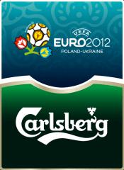 Фото: Пиво «Carlsberg» — официальный спонсор ЕВРО 2012.