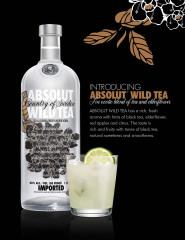 Фото: «Absolut Wild Tea» — водка со вкусом чая.