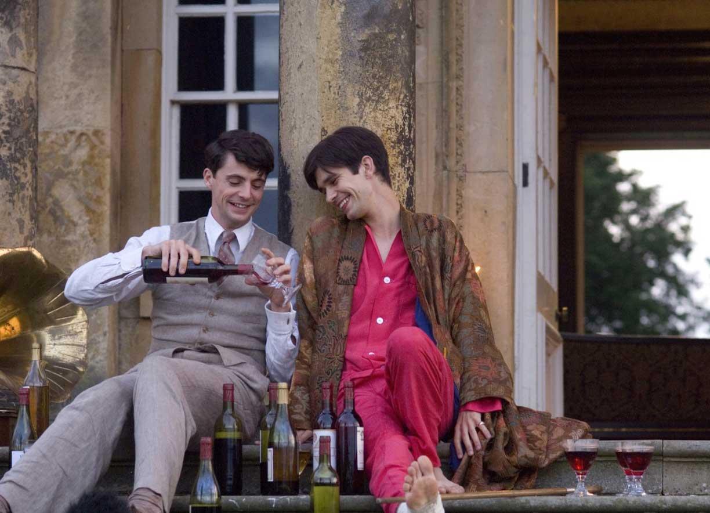 Фото: Кадры из экранизации романа «Возвращении в Брайдсхед» (Brideshead Revisited), 2008.