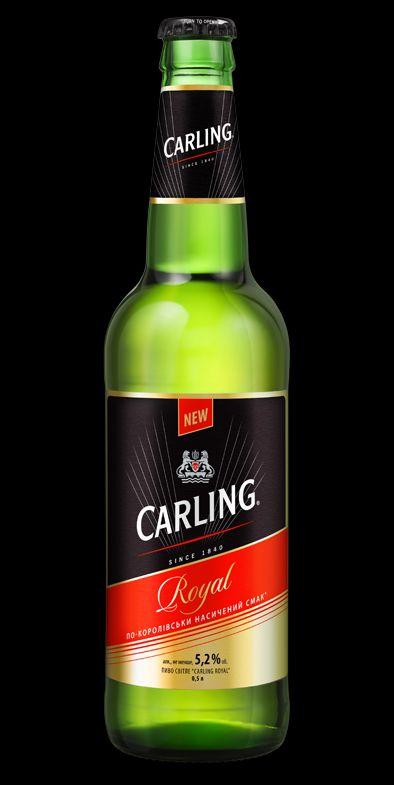 Фото: «Carling Royal» — британская новинка украинского рынка.