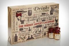 Фото: «The Whisky Advent Calendar» — Рождественский календарь из виски.