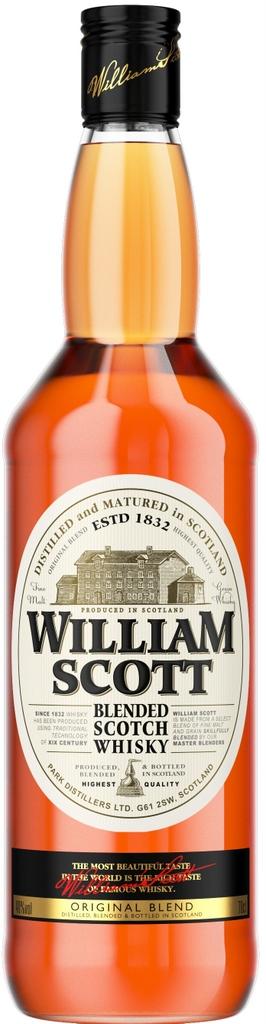 Фото: Новое купажированное шотландское виски «William Scott».