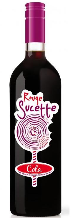 Фото: Вино «Rouge Sucette» — смесь вина и колы.