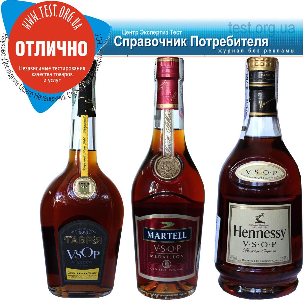 Фото: Тестирование коньяков — «Hennessy» и «Martell» против «Таврии».