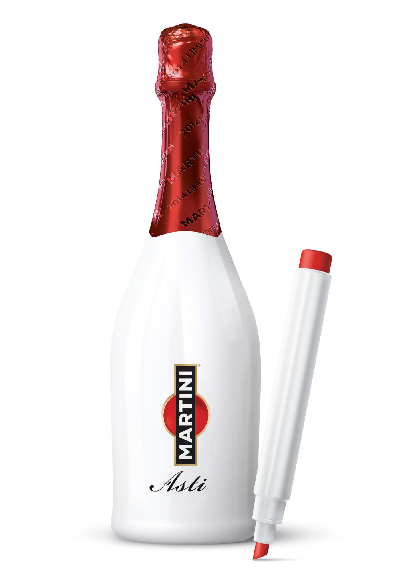 Фото: Лимитированная партия игристого вина «Martini Asti».