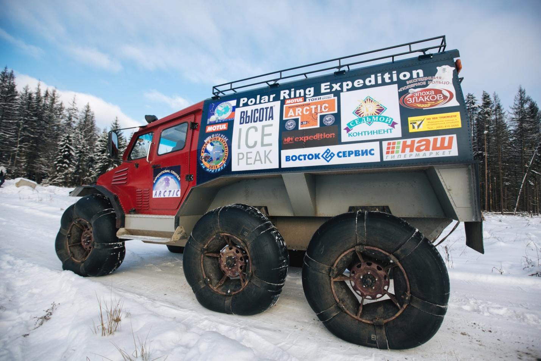 Фото: Колёсный пневмовездеход «Арктика».
