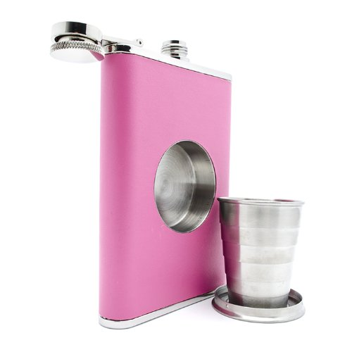 Фото: «The Original Shot Flask» — фляжка с встроенным стаканчиком.