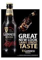 Фото: «Guinness» в обновленном дизайне теперь и в Украине.