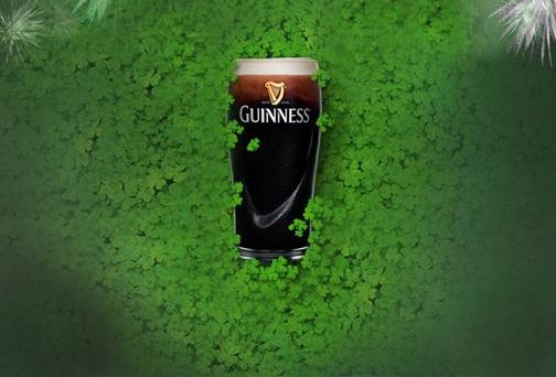 Фото: Присоединяйтесь к «зеленой лихорадке» празднования Дня Святого Патрика вместе с «Guinness».