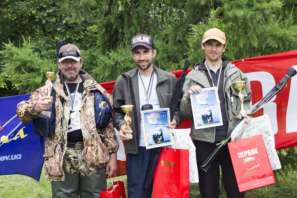 Фото: Победители самого массового «Первак»-Кубка по рыбной ловле.