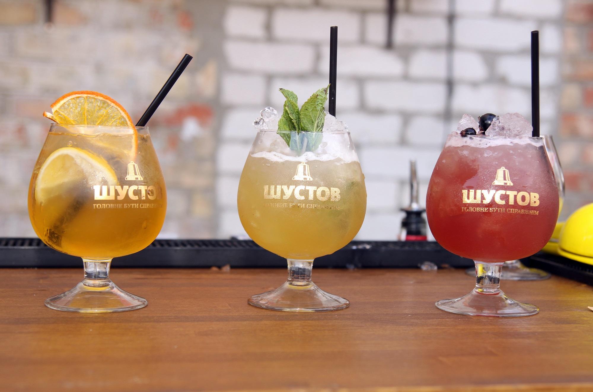 Фото: «Шустов» розвиває коньячну коктейльну культуру в Україні.